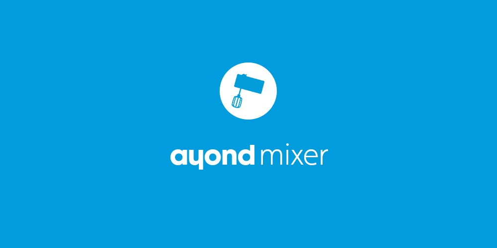 Welcome to Ayond Mixer at Slottet!