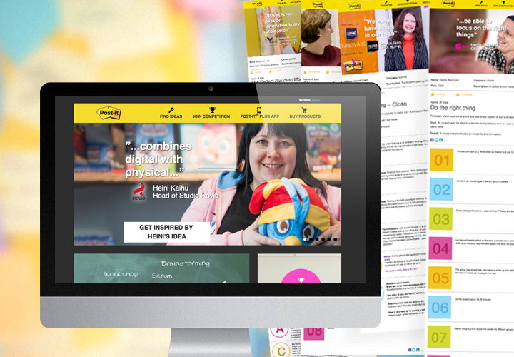 Big Nordic campaign for Post-it® Super Sticky Notes