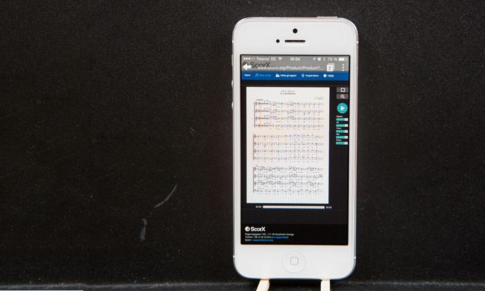 Spela och sjung var du vill – ScorX mobila spelare är här