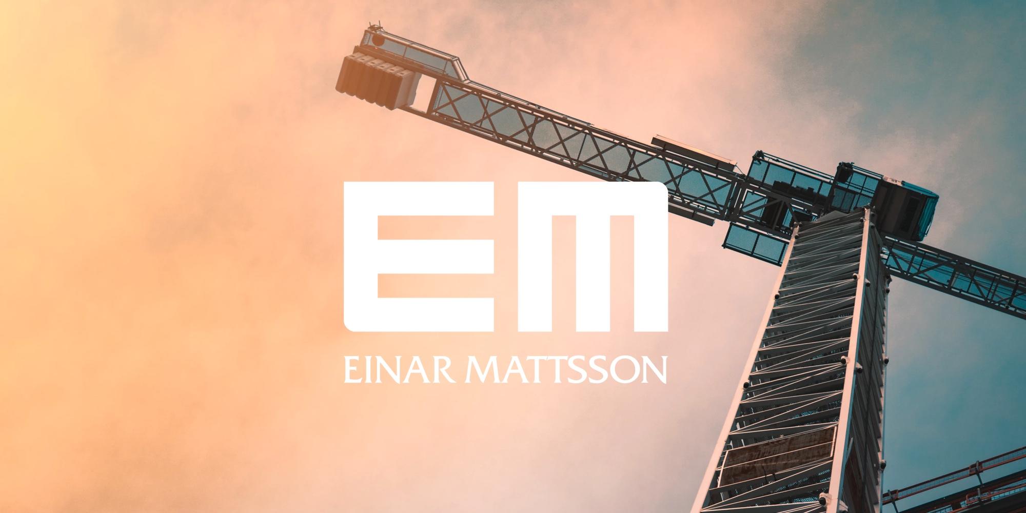 Further web development for Einar Mattsson