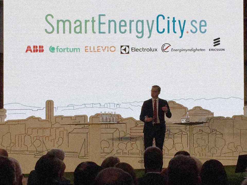 Ayond at the opening of Smart Energy City