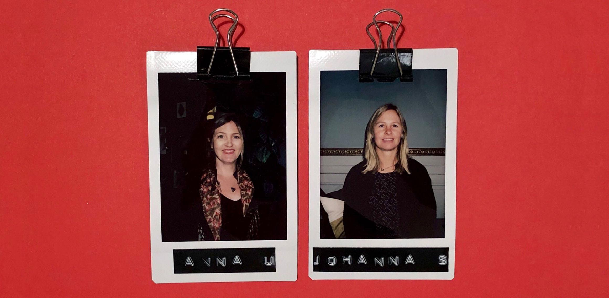 Welcome Johanna Särnå and Anna Uleander!