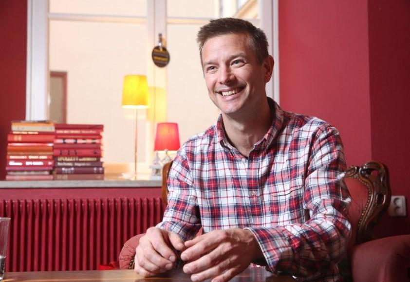 Andreas håller kurs i Utmaningsdriven utveckling på Göteborgs Universitet